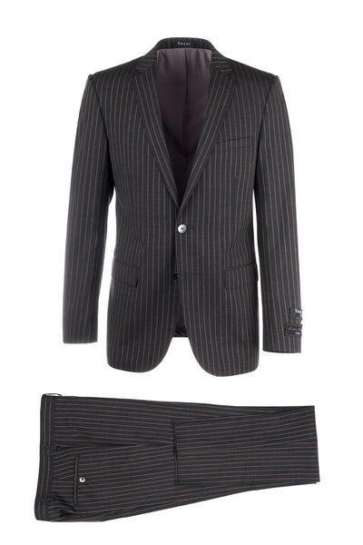 Sienna Slim Fit, Pure Wool Suit by Tiglio Luxe FT1363/1