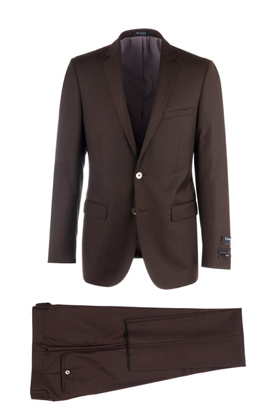 Sienna Slim Fit, Pure Wool Suit by Tiglio Luxe FT3105/3