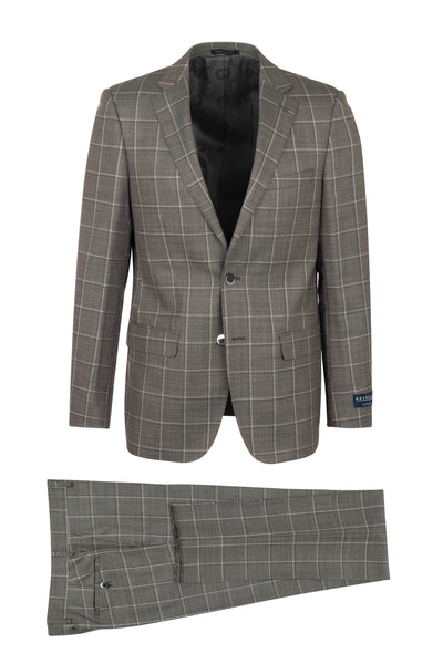 Porto Slim Fit, Pure Wool Suit LG8878F/435/3 GUABELLO Cloth by Canaletto Menswear