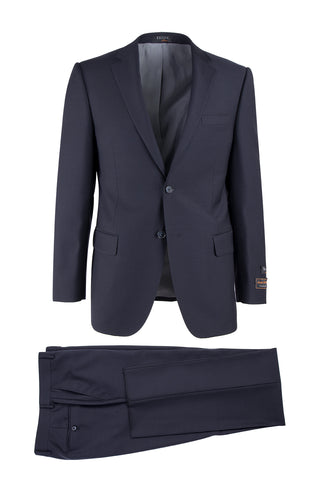 Novello Navy, Modern Fit, Pure Wool Suit by Tiglio Luxe TIG1002