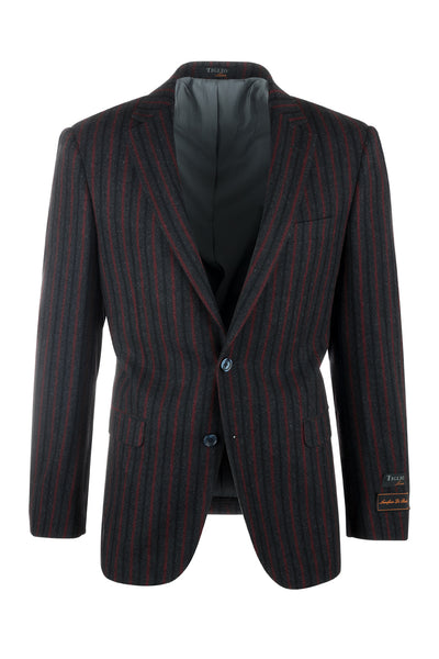 Sangria Modern Fit, Pure Wool Jacket by Tiglio Luxe R4372/1
