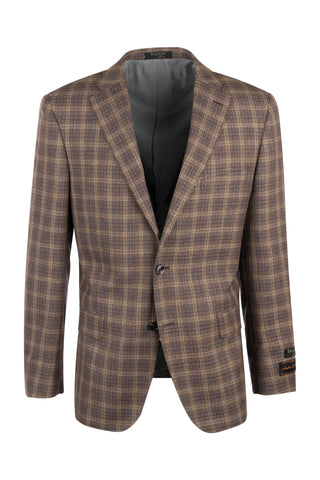 Dolcetto Modern Fit, Pure Wool Jacket by Tiglio Luxe Menswear R92208/3