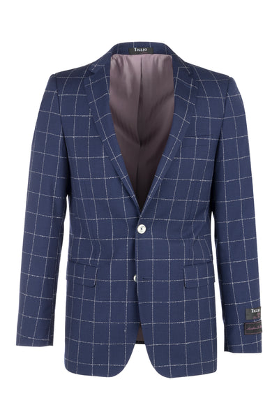 Dolcetto Modern Fit, Pure Wool Jacket by Tiglio Luxe RG8878F/488/4