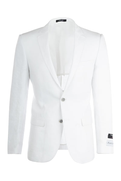 Sienna Slim Fit, Linen Jacket by Tiglio Luxe RS5620/10