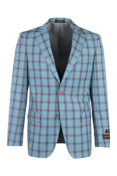 Dolcetto Modern Fit, Pure Wool Jacket by Tiglio Luxe RT92259/3