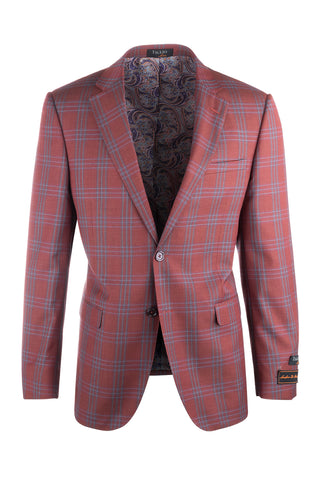 Sangria Modern Fit, Pure Wool Jacket by Tiglio Luxe T74214/13