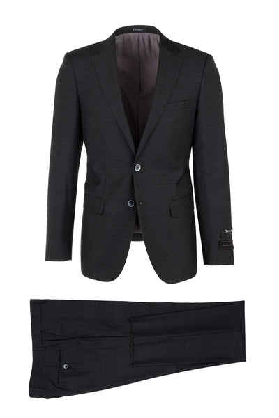 Porto, Slim Fit, Pure Wool Suit & Vest by Tiglio Luxe TIG 1010
