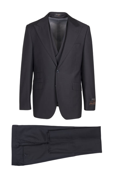 Prosecco Modern Fit, Pure Wool Suit & Vest by Tiglio Luxe TIG1001