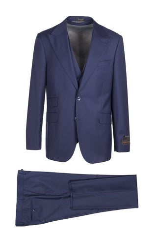 Prosecco Modern Fit, Pure Wool Suit & Vest by Tiglio Luxe TIG5966