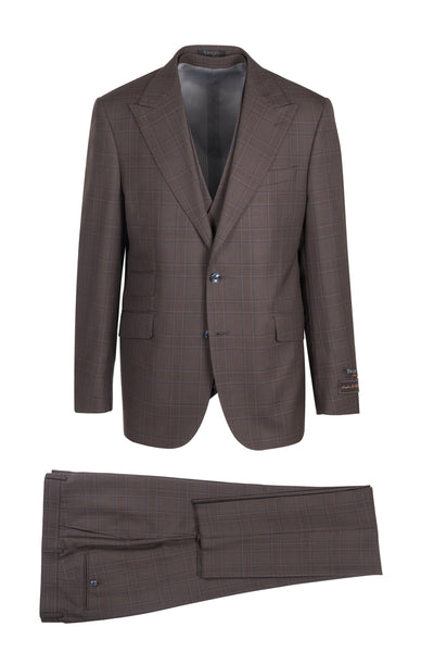 Prosecco Modern Fit, Pure Wool Suit & Vest by Tiglio Luxe TL13997/3