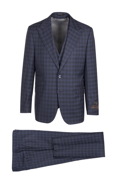 Prosecco Modern Fit, Pure Wool Suit & Vest by Tiglio Luxe TL4005/2