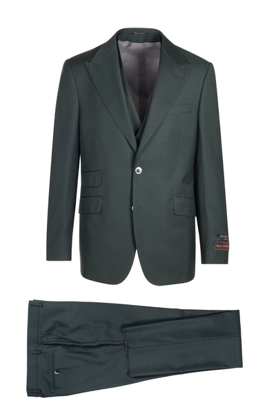 Prosecco Modern Fit, Pure Wool Suit & Vest by Tiglio Luxe TL4186/5