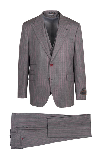 Prosecco Modern Fit, Pure Wool Suit & Vest by Tiglio Luxe TL4226/1