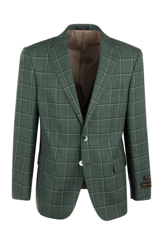 Dolcetto Modern Fit, Pure Wool Jacket by Tiglio Luxe Menswear TL7252F/302/3