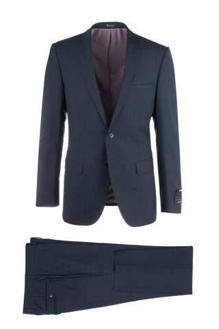 Sienna Slim Fit, Pure Wool Suit by Tiglio Luxe TS6053/4
