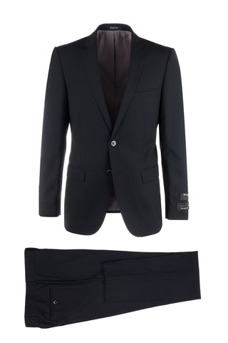 Sienna Slim Fit, Pure Wool Suit by Tiglio Luxe TS6056/1