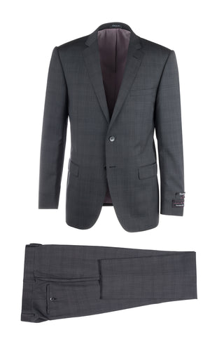 Sienna Slim Fit, Pure Wool Suit by Tiglio Luxe TS6072/1