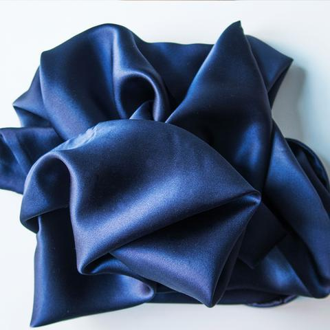 Silk Beauty Pillowcase Navy