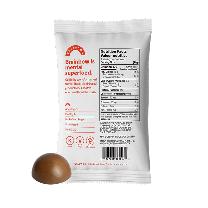 Adaptogen Chocolate Truffles - Cocoa Butter Coffee