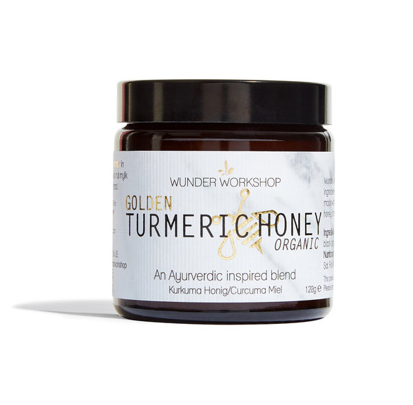 Golden Turmeric Honey