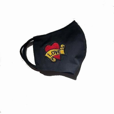 Hellocouture Face Mask Love Heart
