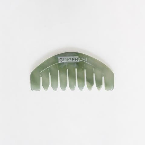 Ginger Chi Jade Chi Comb for Head Massage Therapy