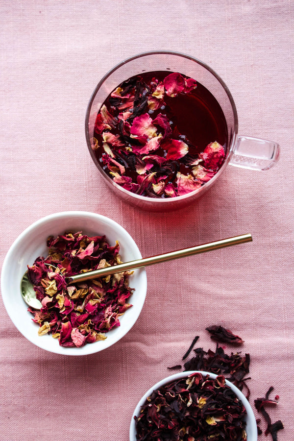 Rose Schisandra Glow Tea