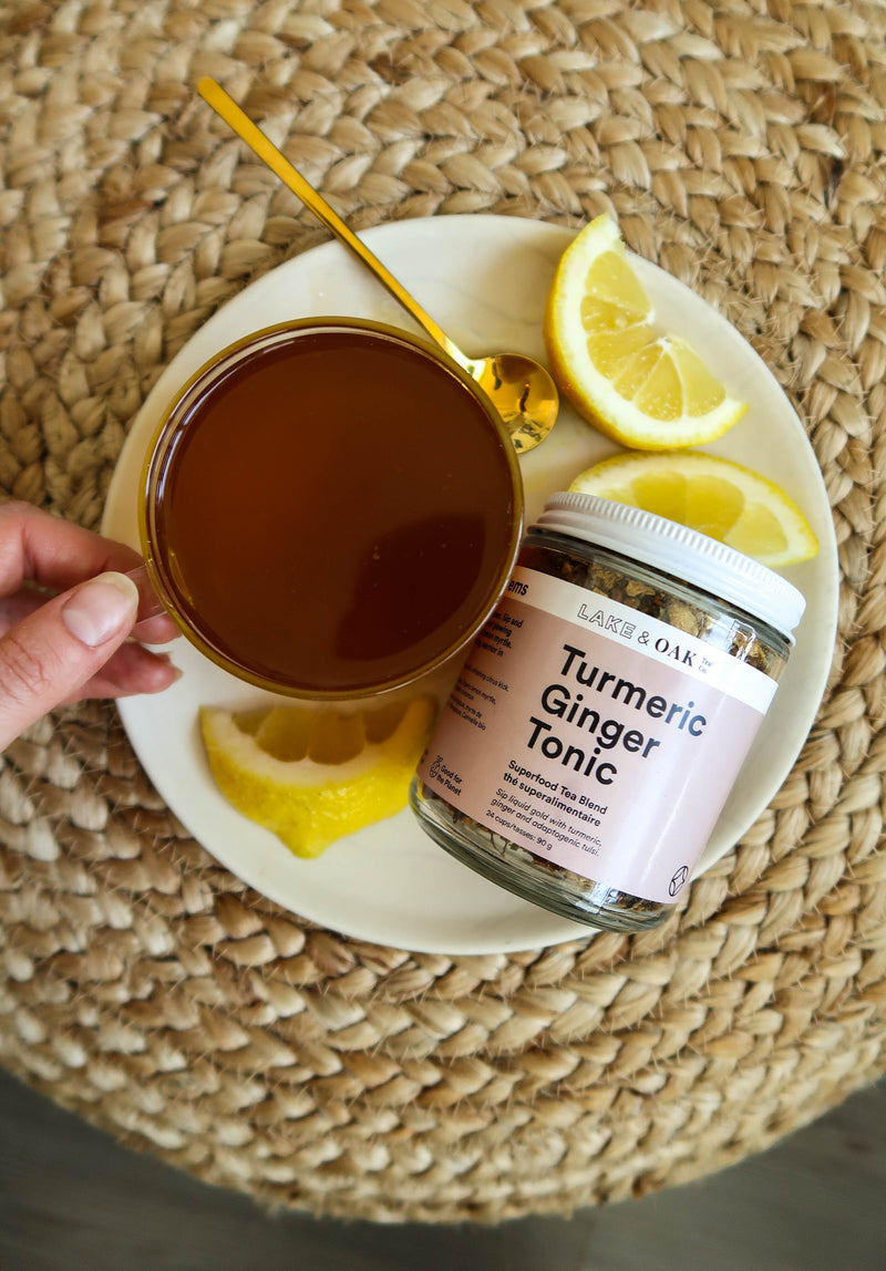 Turmeric Ginger Tonic Tea