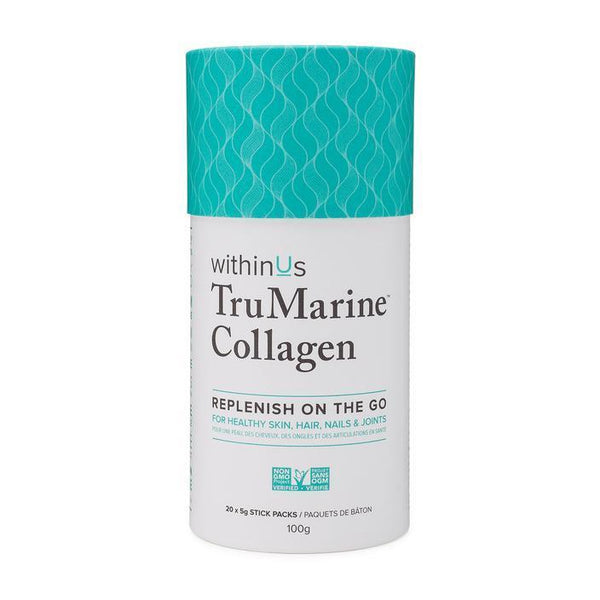 WithinUs TruMarine Collagen On-the-Go Sticks Pack