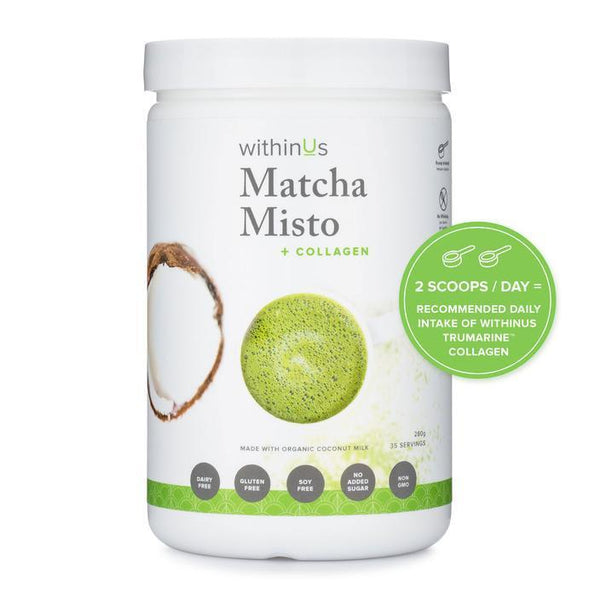 WithinUs Matcha Misto with Collagen