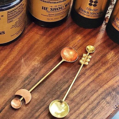 Copper Eclipse Spoon