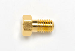 "Gold Plated Nut, 1/16"", Short"