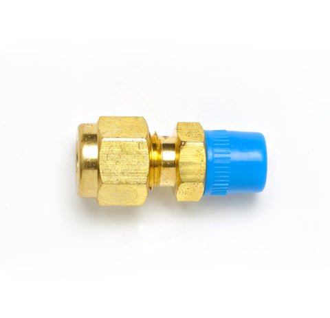 "Brass Fitting, Tube 1/8"" NPT 1/4"""