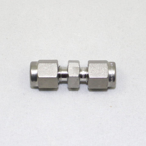 "Union, 1/8"" - 1/8"", Tube Fitting, SS"