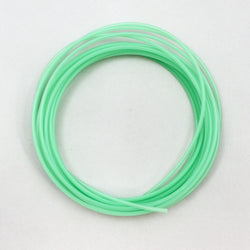 "Translucent Tubing, 1/8"" OD, Green Translucent"