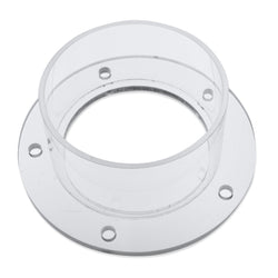"Exhaust Flange for ENC-DC series Enclosures, 3.5"" diameter"