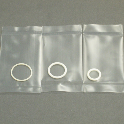 Acid proof O-ring Kit - Contains Aerosol Chamber O-ring and J-Tube Ball Joint O-rings