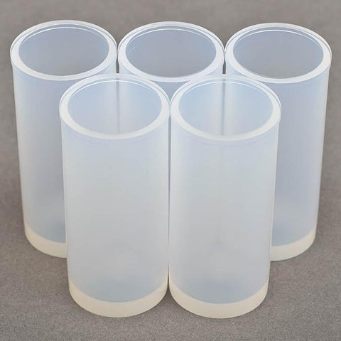 Short Standards Vials (use with short racks only) - 20mL  PFA Standards Vials (qty 5)