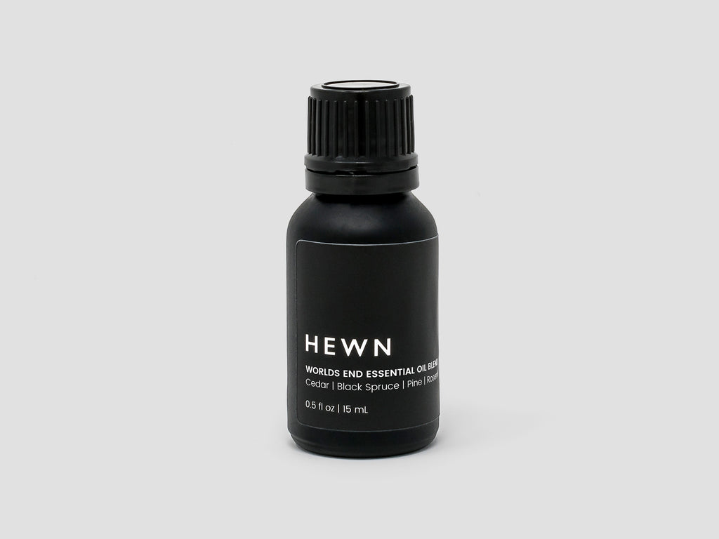 HEWN Worlds End Essential Oil Blend – Cedar, Black Spruce, Scots Pine, Rosemary