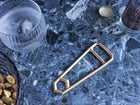 HEWN Leverage Bottle Opener in Satin Brass