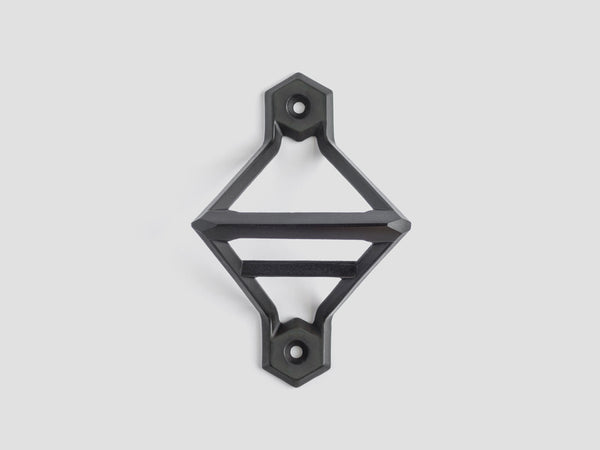 HEWN Leverage Wall-Mounted Bottle Opener in Blackened Brass
