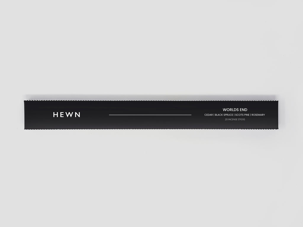 HEWN World's End Incense – Cedar, Black Spruce, Scots Pine, Rosemary