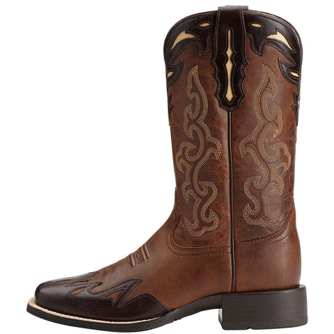 Ladies Ariat Sassy Brown Sidekick Wingtip 10014026