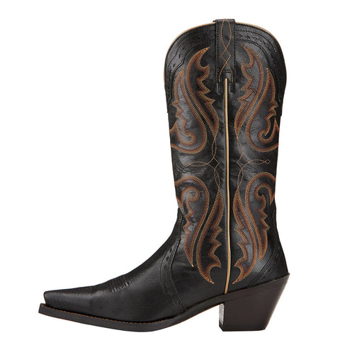 Ladies Ariat 10017322 Black Heritage Western