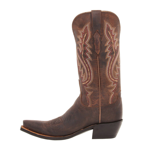 Ladies Lucchese M5002 Chocolate Madras Goat
