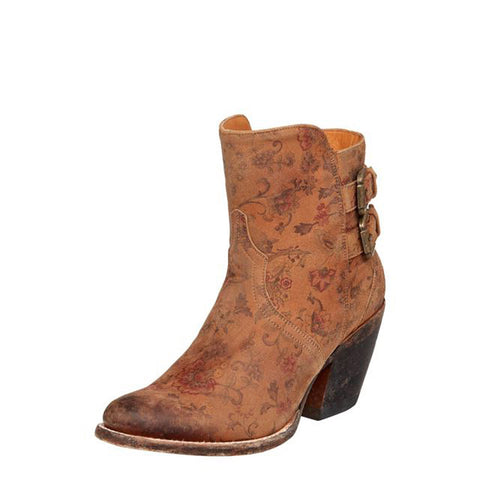 Ladies Lucchese M4953 Catalina Floral Bootie