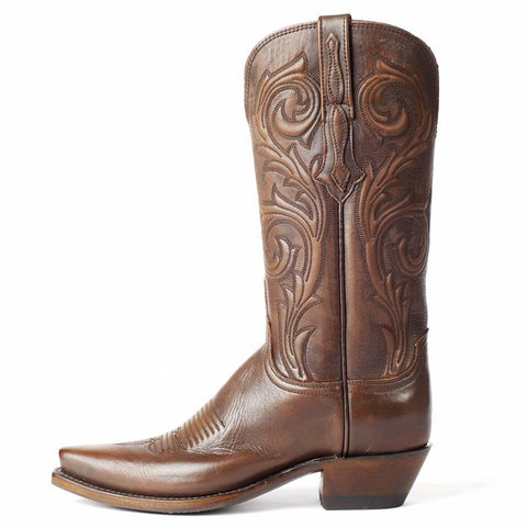 Ladies Lucchese N4771 Antique Castagno Cowhide