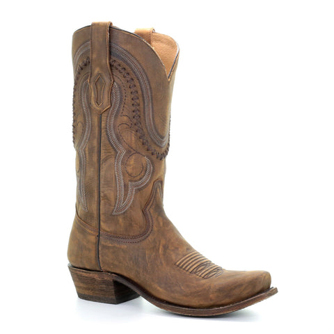 Men's Corral A3479 Gold Cowhide Boots