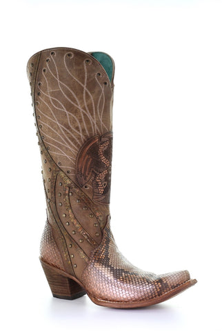 Ladies Corral C3525 Orix Python Snip Toe