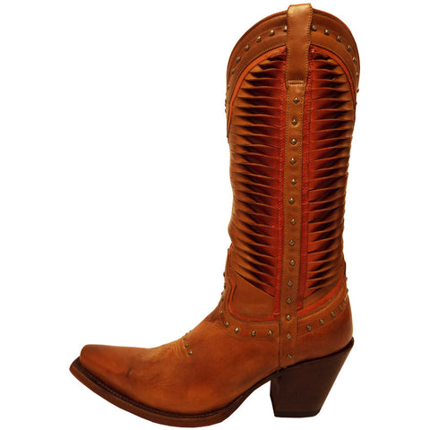 Ladies Lucchese M4873 Cheyenne Tan